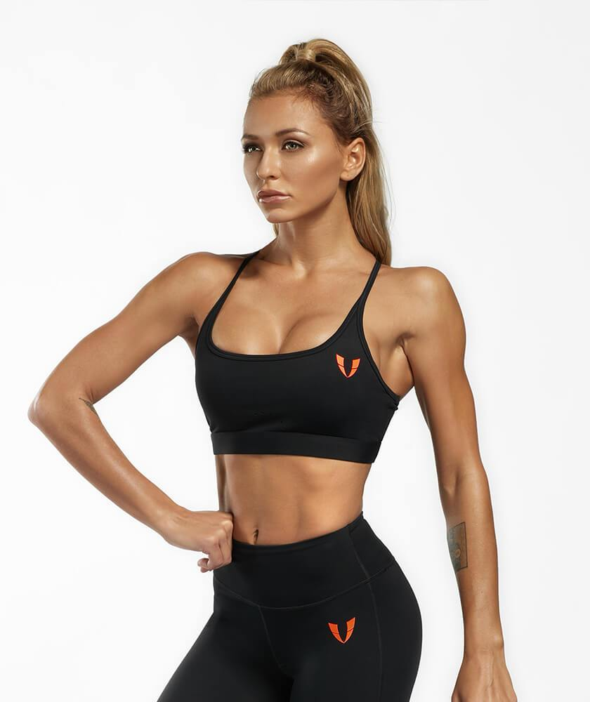 Firmabs Strappy Sports Bra - Firm Abs Fitness