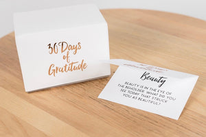 30 Days of Gratitude Jar