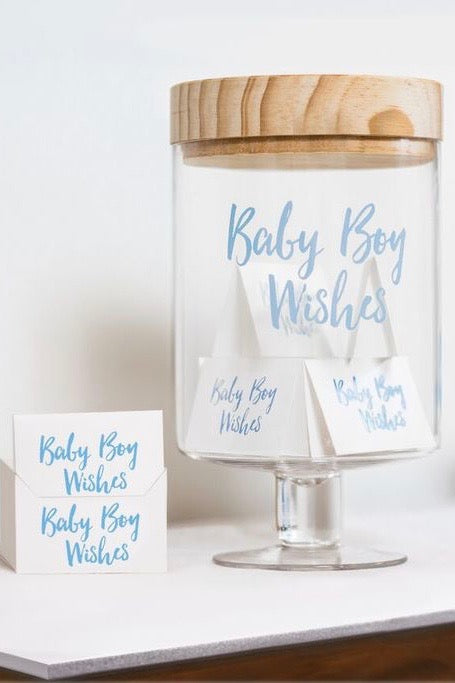 Baby Boy Wish Jar