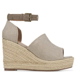 Not Rated Taupe Leif Wedge