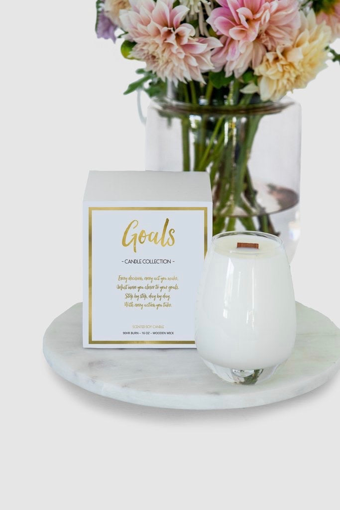 Gratitude Candle Collection-Goals