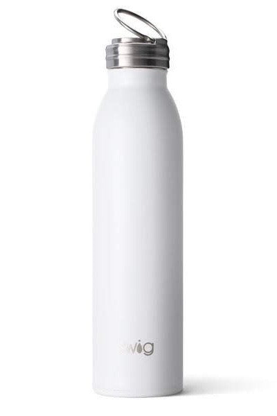 SWIG 20oz Bottle - Diamond White
