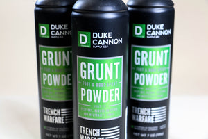 Duke Cannon Grunt Powder - Foot & Boot Spray