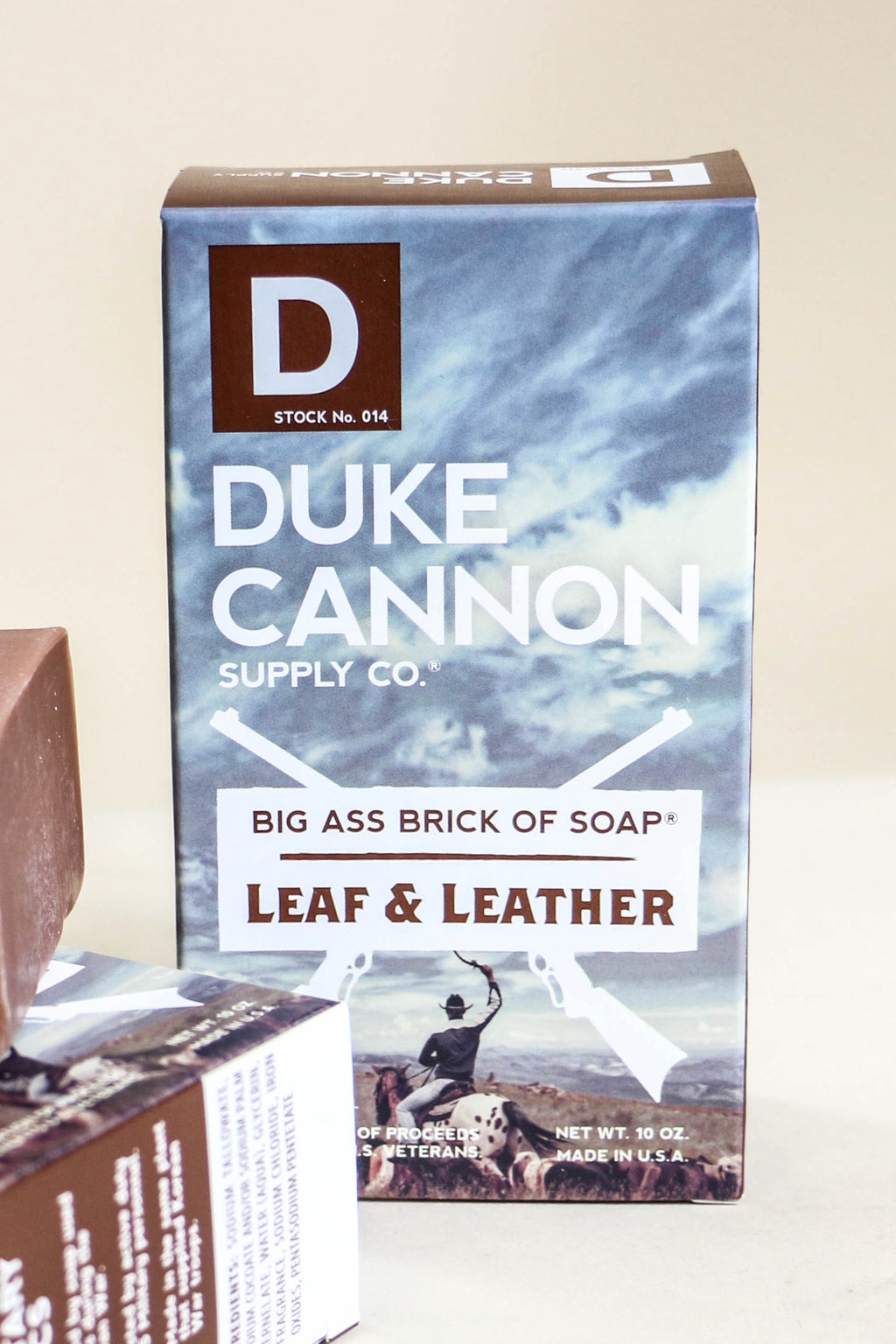 Duke Cannon Brick Body Soap