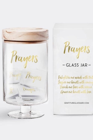 Prayers Glass Jars