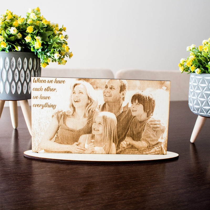 PERSONALIZED WOODEN PORTRAIT