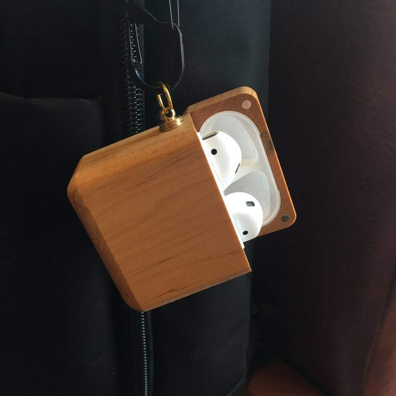 Wooden Airpod Cases