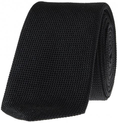 SL Grenadine Tie , Self-Lined , Black - Mark marengo