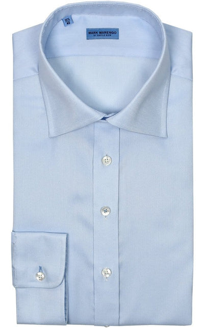Regular Fit Light Blue Shirt - Mark marengo