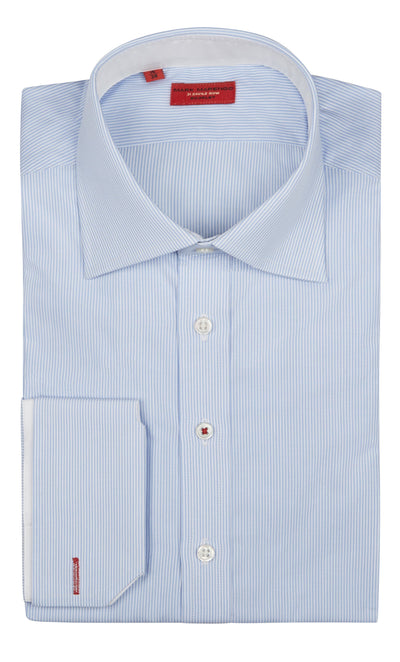 Regular Blue Pinstrip Shirt