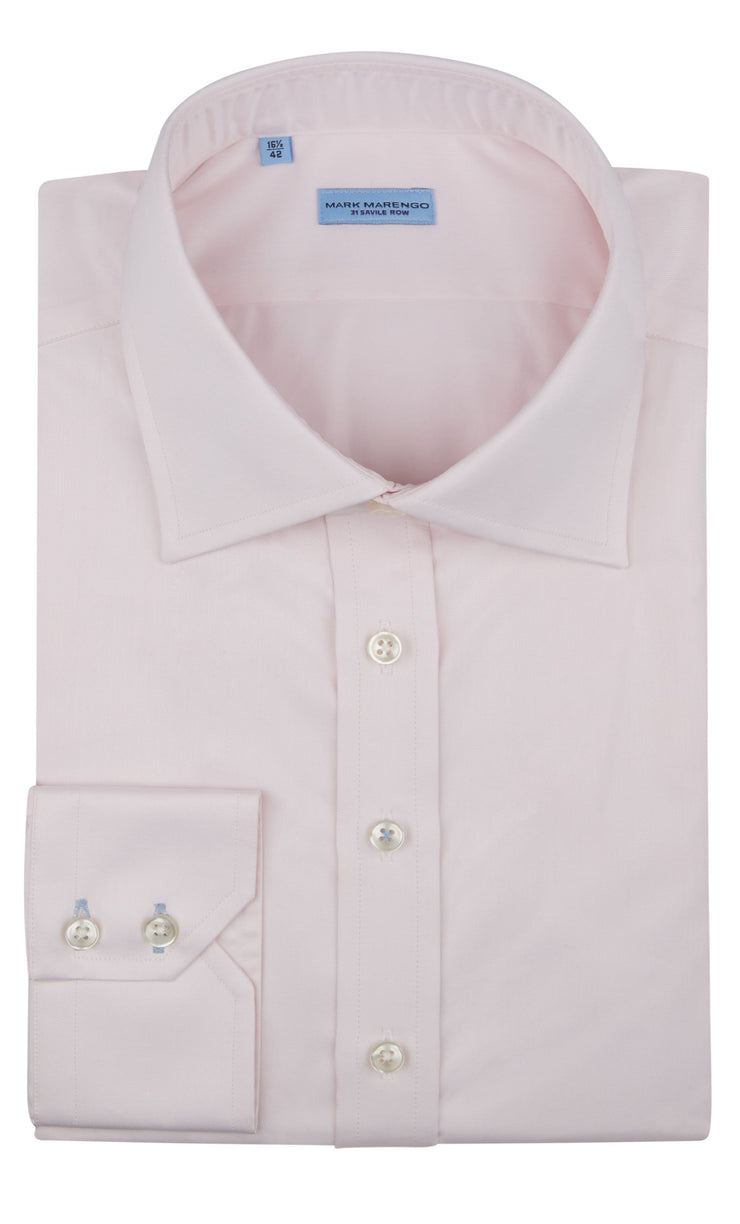 Regular Fit Pink Fine Twill Shirt