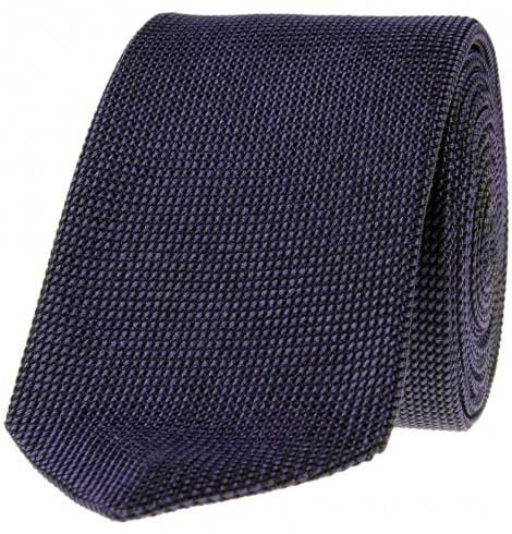 SL Grenadine Tie, Self-Lined, Deep Purple - Mark marengo