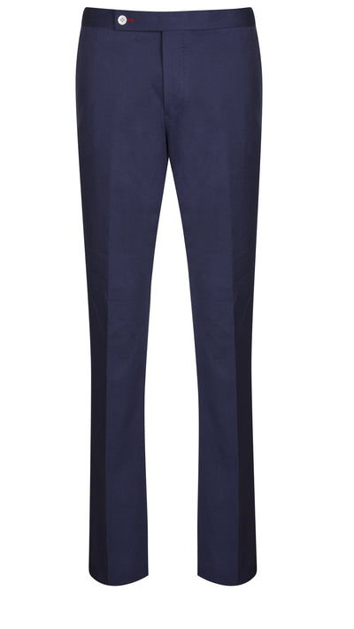 Blue Cotton Drill Trouser - Mark marengo