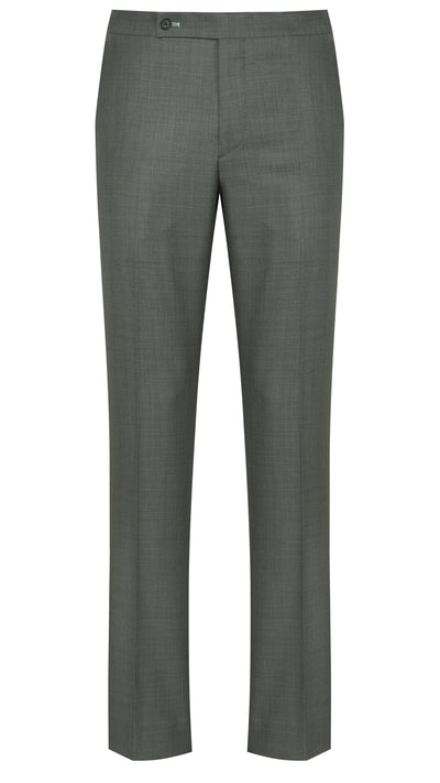 Grey Sharkskin Trousers - Mark marengo