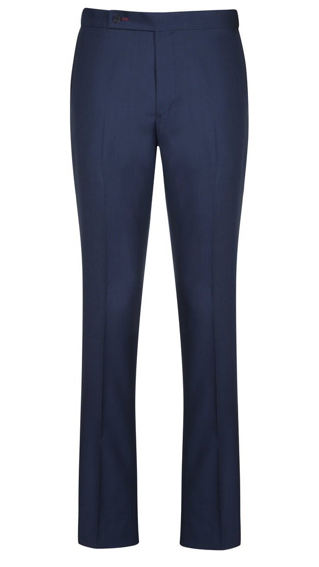 Navy Nailshead Trousers - Mark marengo