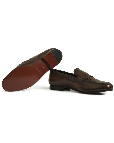 Brown Loafer - Mark marengo