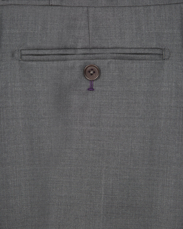 Grey Twill Trouser - Mark marengo