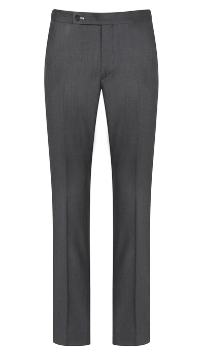 Dark Grey Sharkskin Trouser - Mark marengo