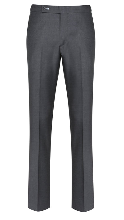Dark Grey Twill Trouser - Mark marengo