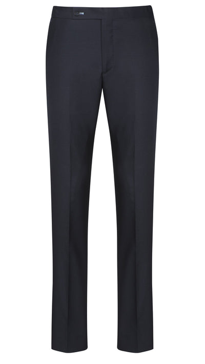 Dark Navy Twill Trousers - Mark marengo
