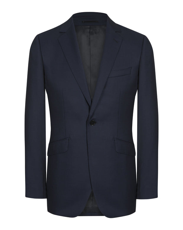 Navy Birds Eye Suit - Mark marengo