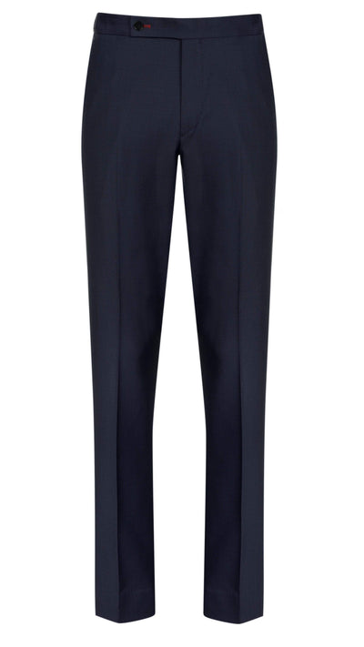 Navy Twill Trousers - Mark marengo
