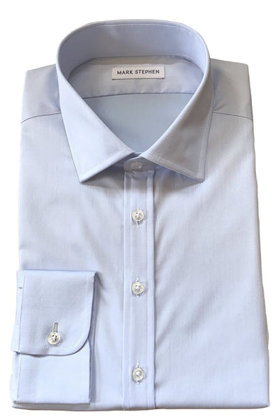 Mark Stephen Blue Plain Shirt