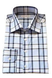Mark Stephen Bold Blue Check Shirt