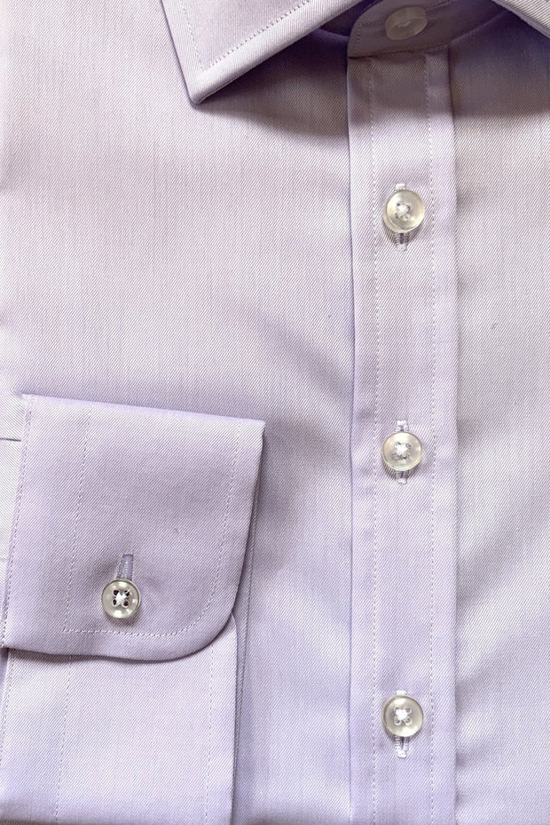 Mark Stephen Light Lavender Oxford Shirt