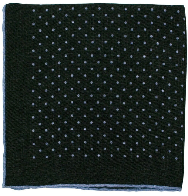 Sky Polka Dot Pocket Square - Mark marengo