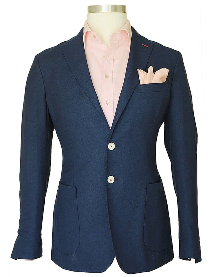 Plain Blue  Jacket