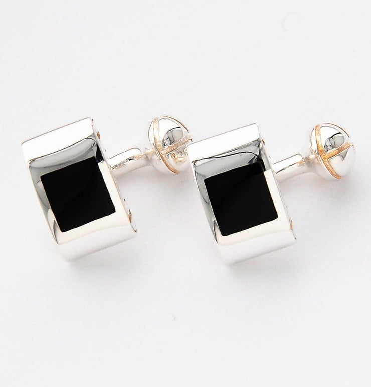 Silver Camera Design Black Cufflinks - Mark marengo