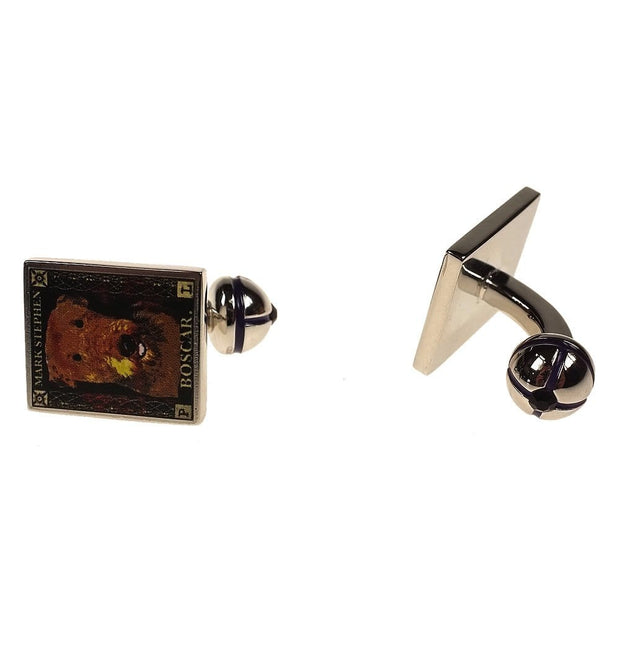 Mark Stephen Dog Cufflinks