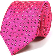 Mark Stephen Hot Pink Tie