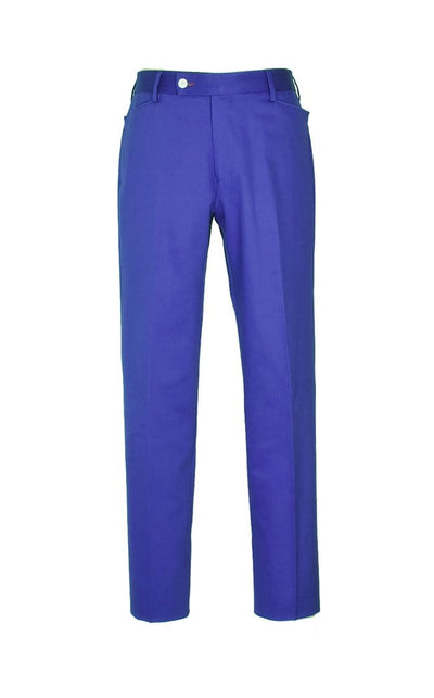 Royal Blue Gabardine Trousers