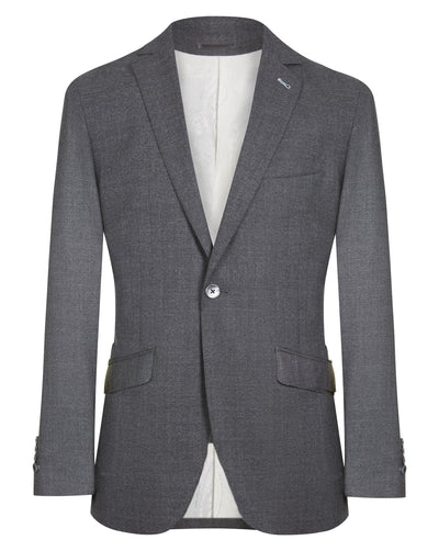 Grey Basket Weave Jacket