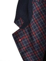 Blue / Red Check Jacket