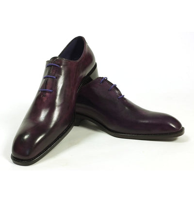 Mark Stephen Purple Wholecut Shoes