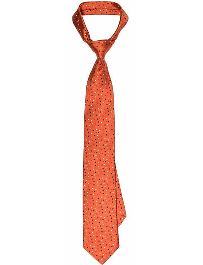 Orange Polka Dots Tie - Mark marengo