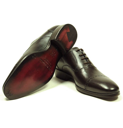 Brown Oxford Shoes - Mark marengo