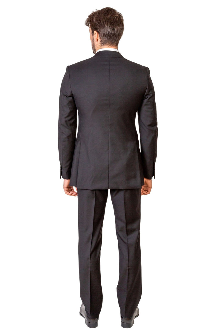 Plain Black Suit - MARK STEPHEN