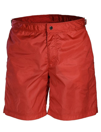 Red Swimming Shorts - Mark marengo