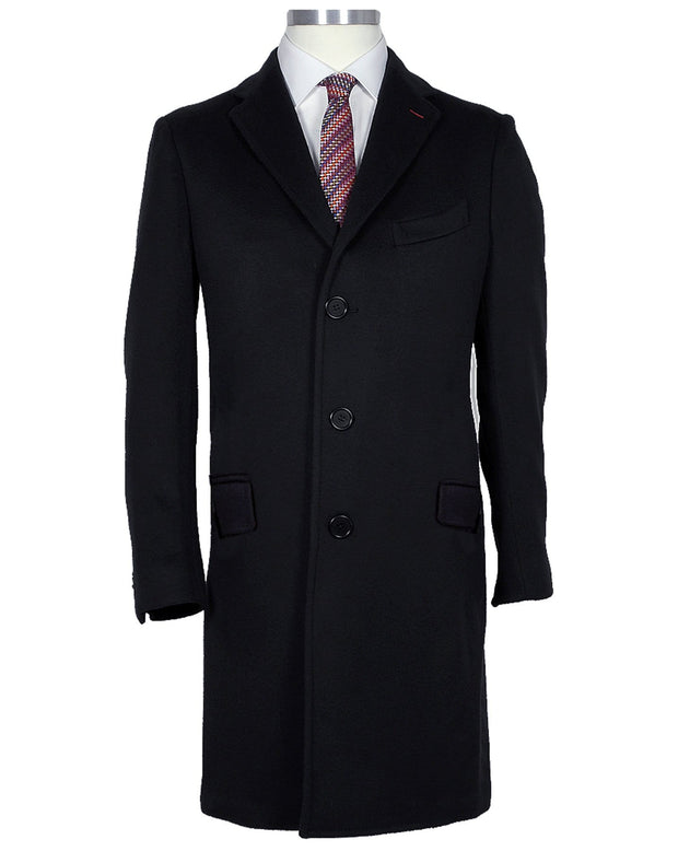 Dark Navy Overcoat