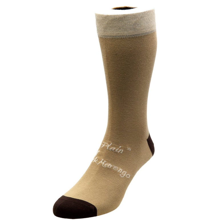 Signature Beige and Brown Socks