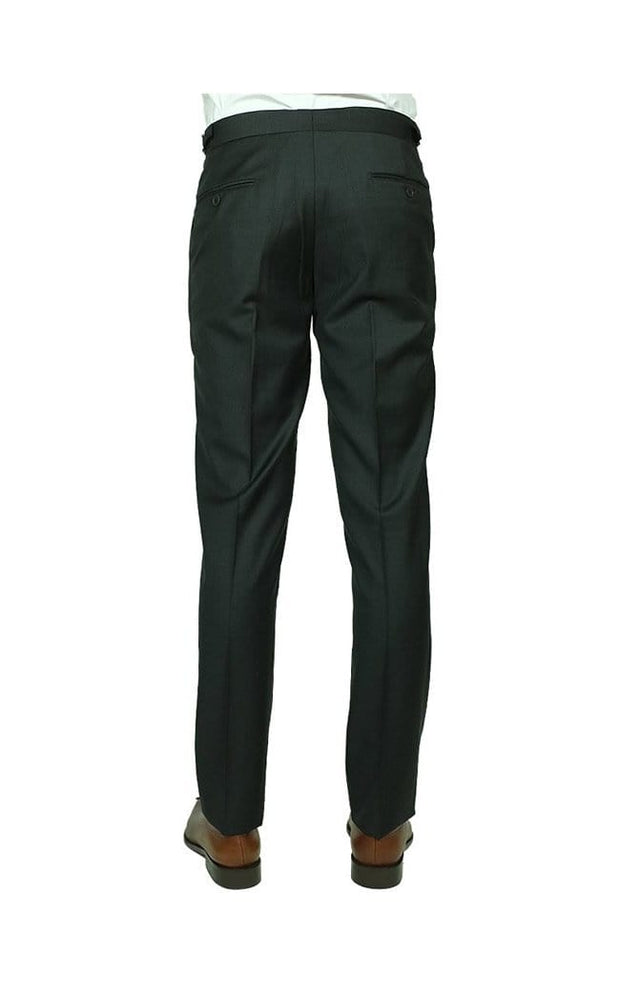 Charcoal Grey Wool Trousers