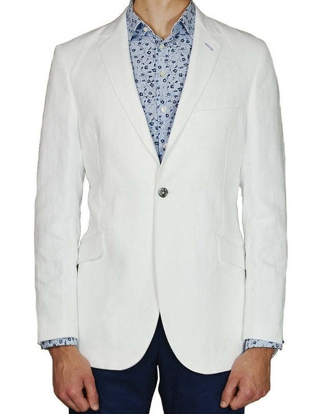 White mens jacket