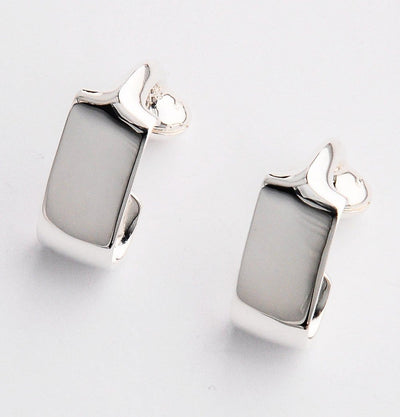 Silver Wraparound Cufflinks - Mark marengo