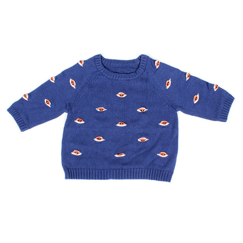 Blue Eyez Sweater