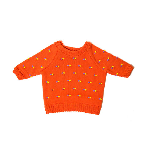 Orange Pillz Sweater