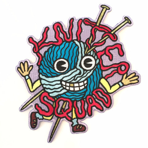 KNITTER SQUAD PATCH